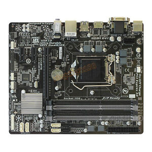Gigabyte-GA-B85M-DS3H-For-Intel-B85-LGA1150-Micro-ATX-Motherboard-DDR3-Mainboard