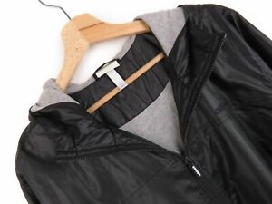 Details zu AT4497 Adidas Neo Jacke Vintage Original Premium Schwarz Wind mit Kapuze Größe L