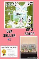 2 X Fern Milk Green Tea Soap. Effective ❤️ Lot Of 2. Usa Seller ❤️❤️