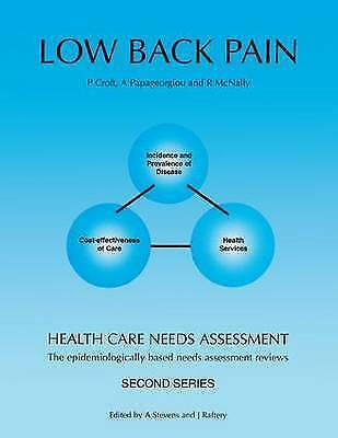 Health Care Needs Assessment: The Epidemiologically Based Needs Assessment Revi