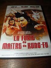 DVD   LA FURIE DU MAITRE DU KUNG FU   langue française