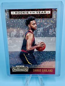 Darius Garland 2019-20 Panini Contenders Rookie of the Year Contenders #5 HOT📈