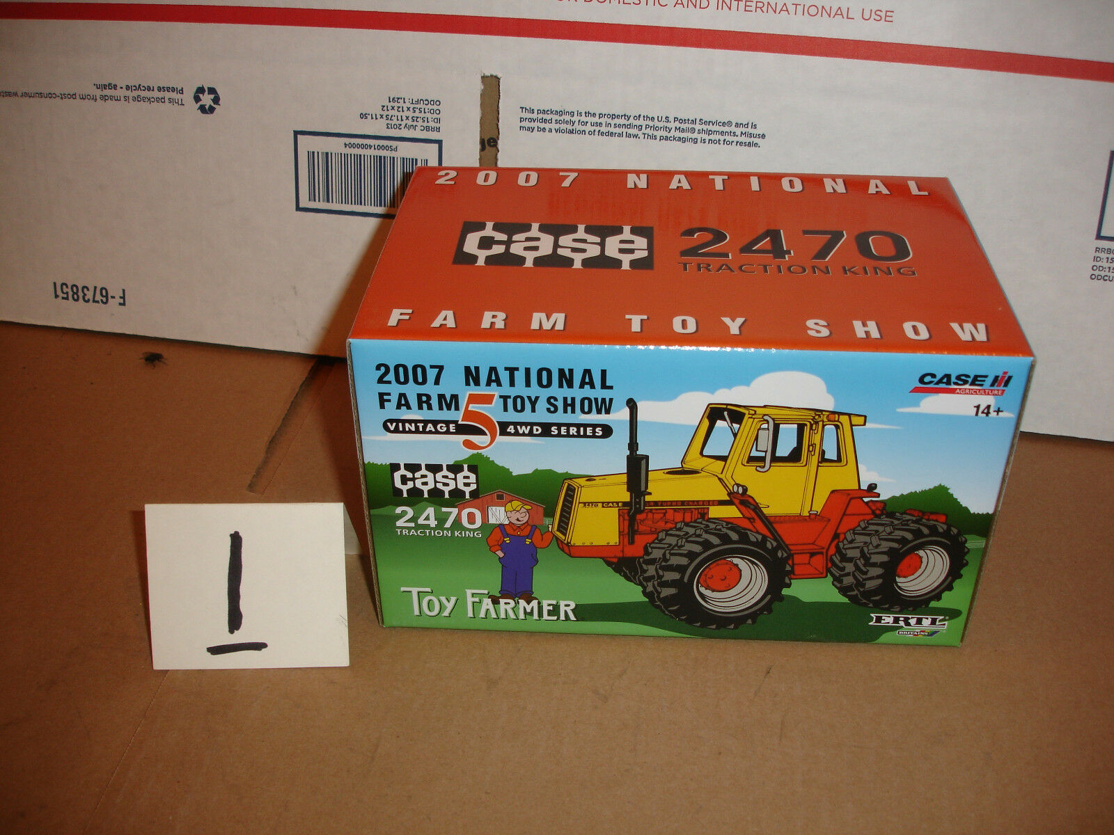 1 32 case 2470  toy farmer tractor