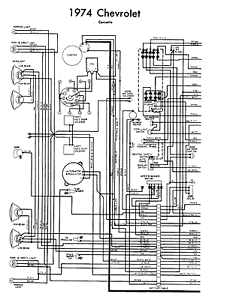 Corvette 1974 Wiring Diagram | eBay