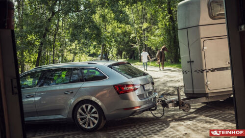 Für BMW X1 F48 ab 15 Anhängerkupplung starr+E-Satz 13p spez