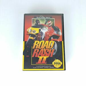 Road-Rash-II-2-Sega-Mega-Drive-Genesis-Game-Cartridge-Complete-Free-Postage