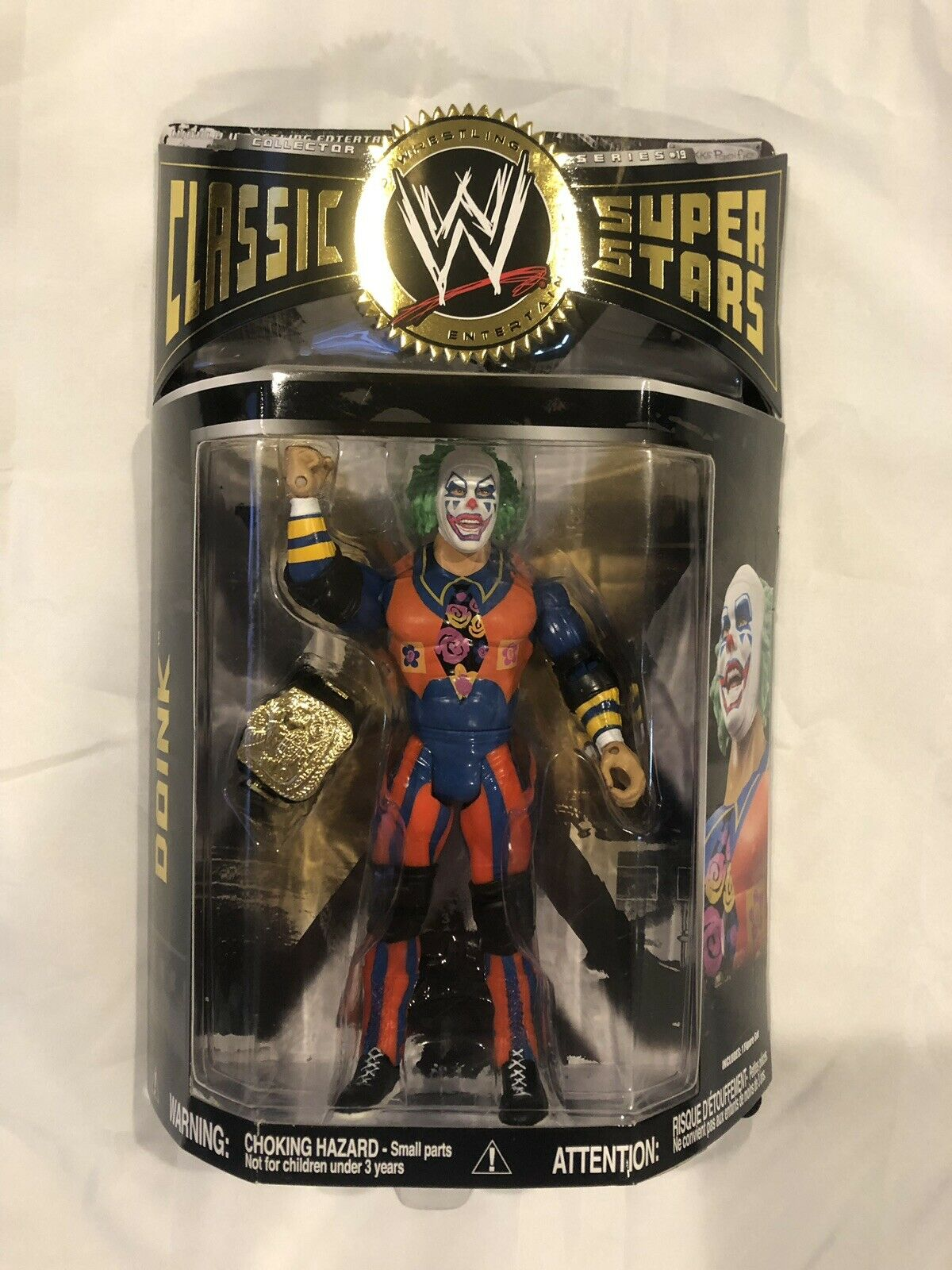 Evil Doink wwe classic superstars series 19 Rare