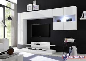 mobile porta tv Nice 2 Parete Attrezzata Soggiorno Moderna tutto ...