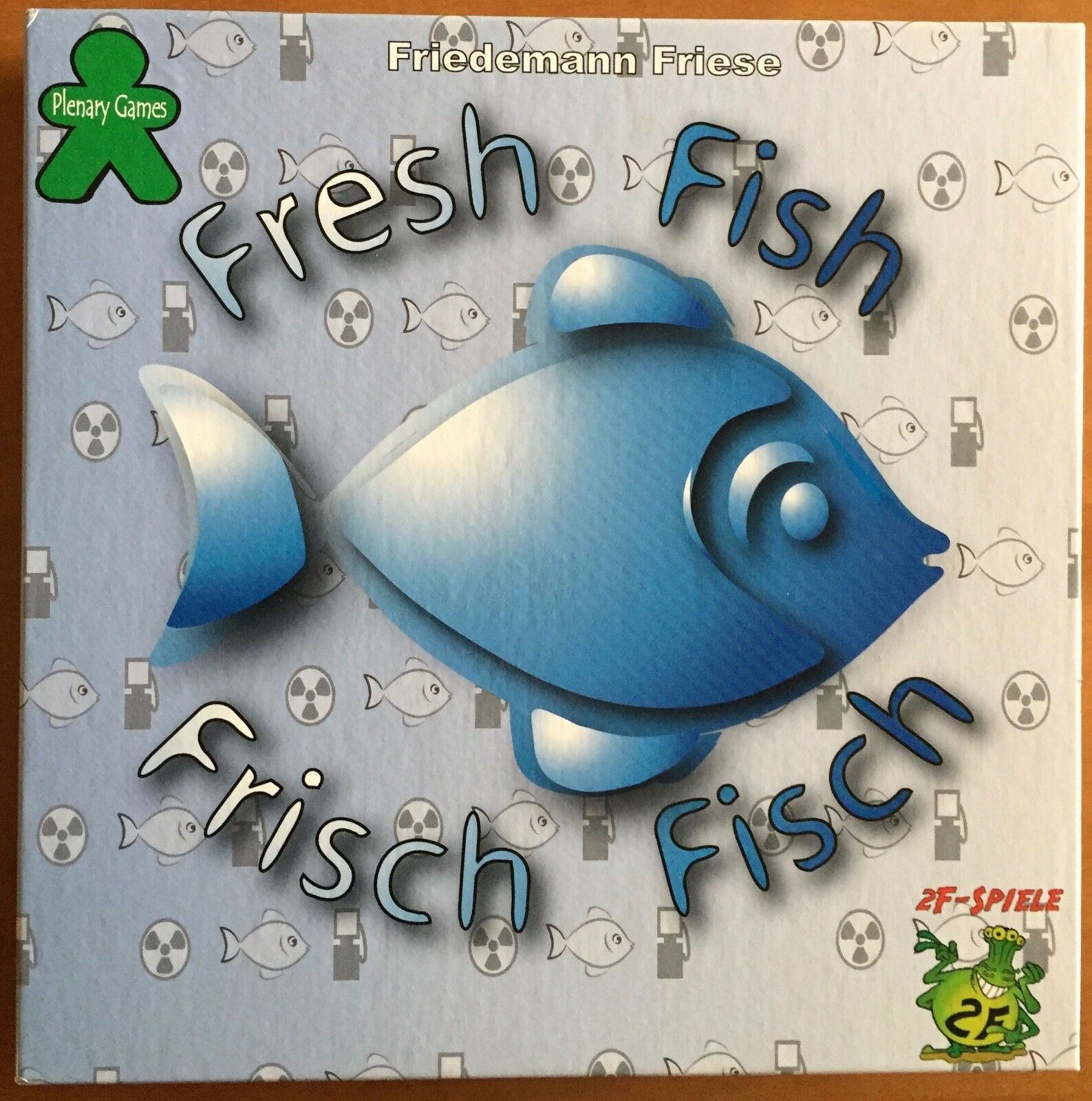 Fresh Fish - 2F-Spiele 1997 - PUNCHED
