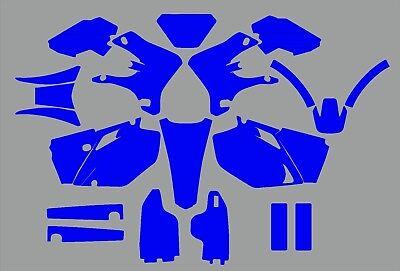 Yamaha YZF 250 450 2003-2005  Graphics Template vector EPS