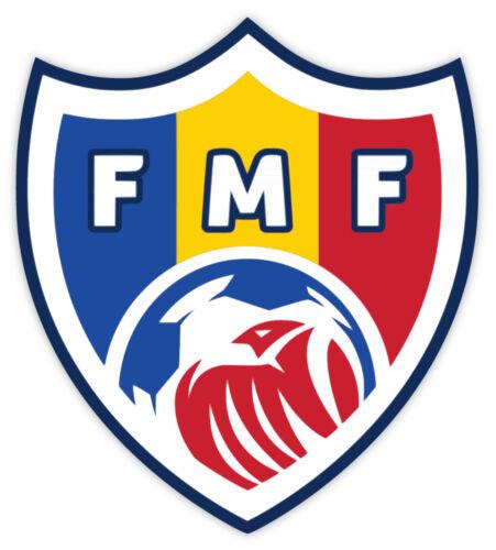 "Moldova team Football Federation FMF sticker decal 4/"" x 5/"""