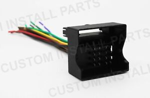 Details zu Aftermarket Radio Stereo Install Wire Wiring Harness Cable on