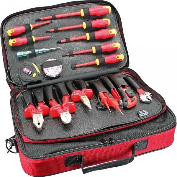 InLine Profi Elektro Werkzeugtasche 18-teilig
