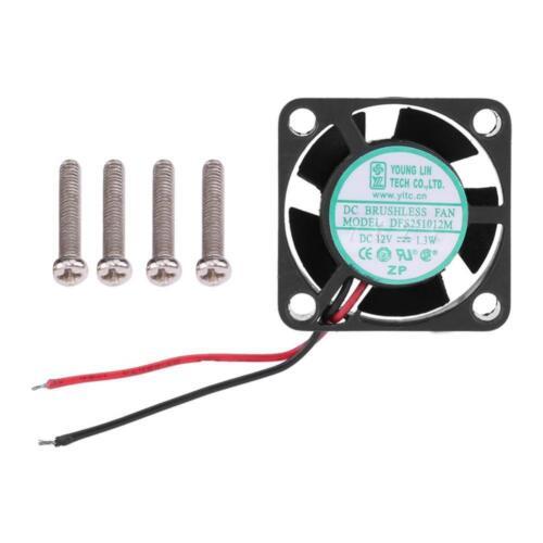 QUICRUN-30A ❤ High Speed Cooling Fan 25x25mm ESC for EZRUN-35A EZRUN-60A