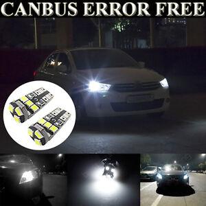 2x Mercedes Vito W639 Bright Xenon White Superlux LED Number Plate Light Bulbs