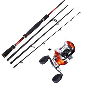 Fishing rod and reel combos spincasting fishing tackle for Best fishing rod and reel combo for the money