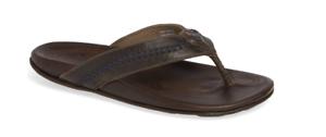 Olukai Nui Rum//Rum Comfort Flip Flop Men/'s sizes 7-15 NIB!!!