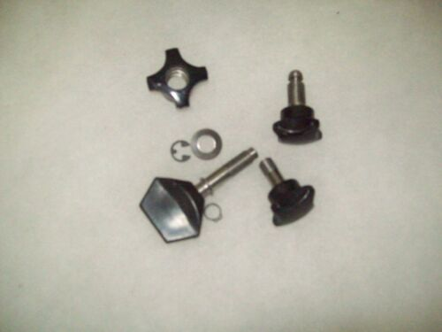 ALUM. CARRIAGE HOBART COMPLETE KNOB KIT FOR 1612,1712,