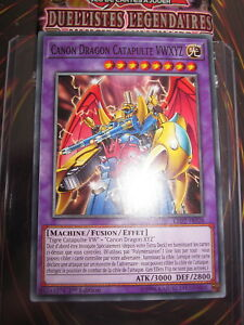 YU-GI-OH-COM-CANON-DRAGON-CATAPULTE-VWXYZ-LED2-FR028-FR-EDITION-1-NEUF-MINT