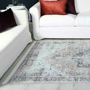 Lincoln Bohemian Diamond Green Modern Floor Rug 4 Sizes **FREE DELIVERY**
