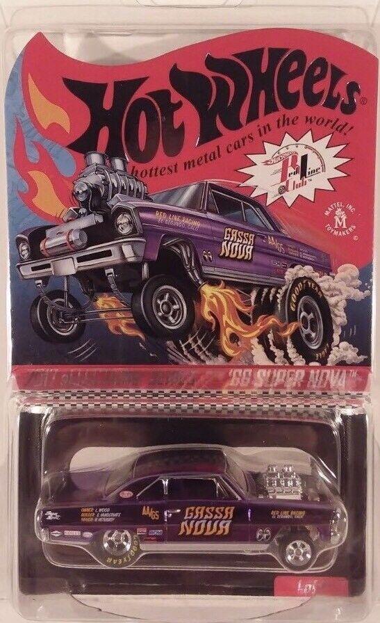 Hot Wheels 2017 RLC Club Selections 1966 Nova Gassa Nova GasserPurple color