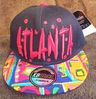 Kb Ethos Atlanta Snapback Hat/cap Premium Headwear Adjustable