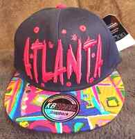 Kb Ethos Atlanta Snapback Hat/cap Premium Headwear Adjustable