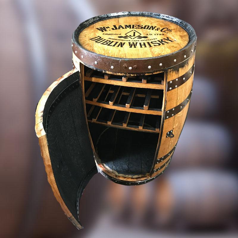 Recyclé Chêne Solide Whisky Moi   Jameson   Balmoral