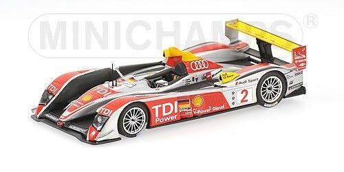 Minichamps Audi R10 – Sport Nord Amérique – Capello Kristensen Mcnish – 1 43