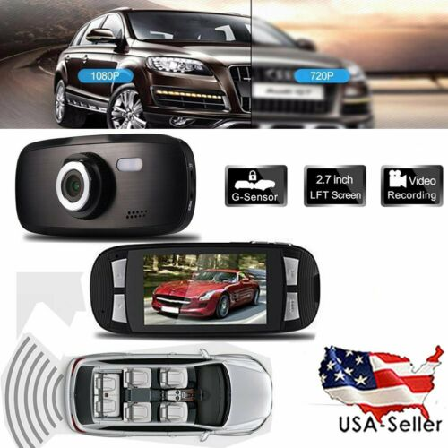 1080P HD Car DVR Dash Camera G1W Auto Video Registrator Cam Recorder Novatek FD