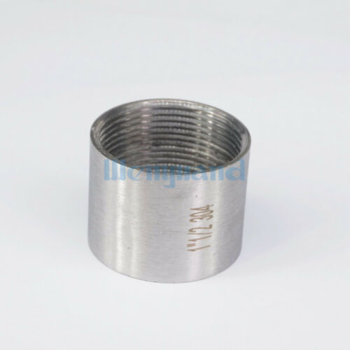 "1-1//2/"" BSP Hembra Tubo montaje completo Socket 304 SS Conector Para agua Aceite de aire"