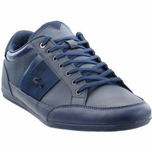 3ca60eba27 Image is loading Lacoste-Chaymon-119-2-U-CMA-Sneakers-Navy-