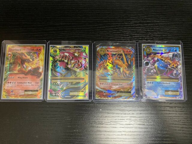 POKEMON XY EVO. HOLO CARD LOT OF 4 PSA READY FRESHLY PULLED POTENTIAL GMT 10s!