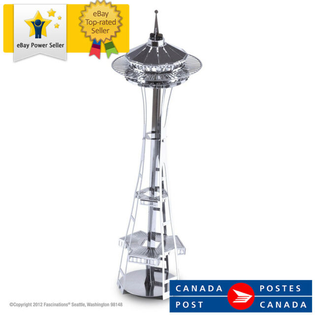 Fascinations Metal Earth 3D Metal Model Kit - Seattle Space Needle (MMS014)