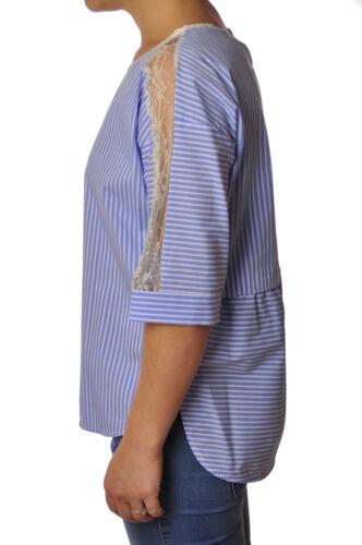 3057406g184217 shirt Woman Shirts Blue Twin Set wq7ZxRqX