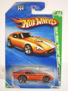 Hot Wheels Shelby Cobra Daytona Coupe 05//12 Treasure Hunts 2010 049//240