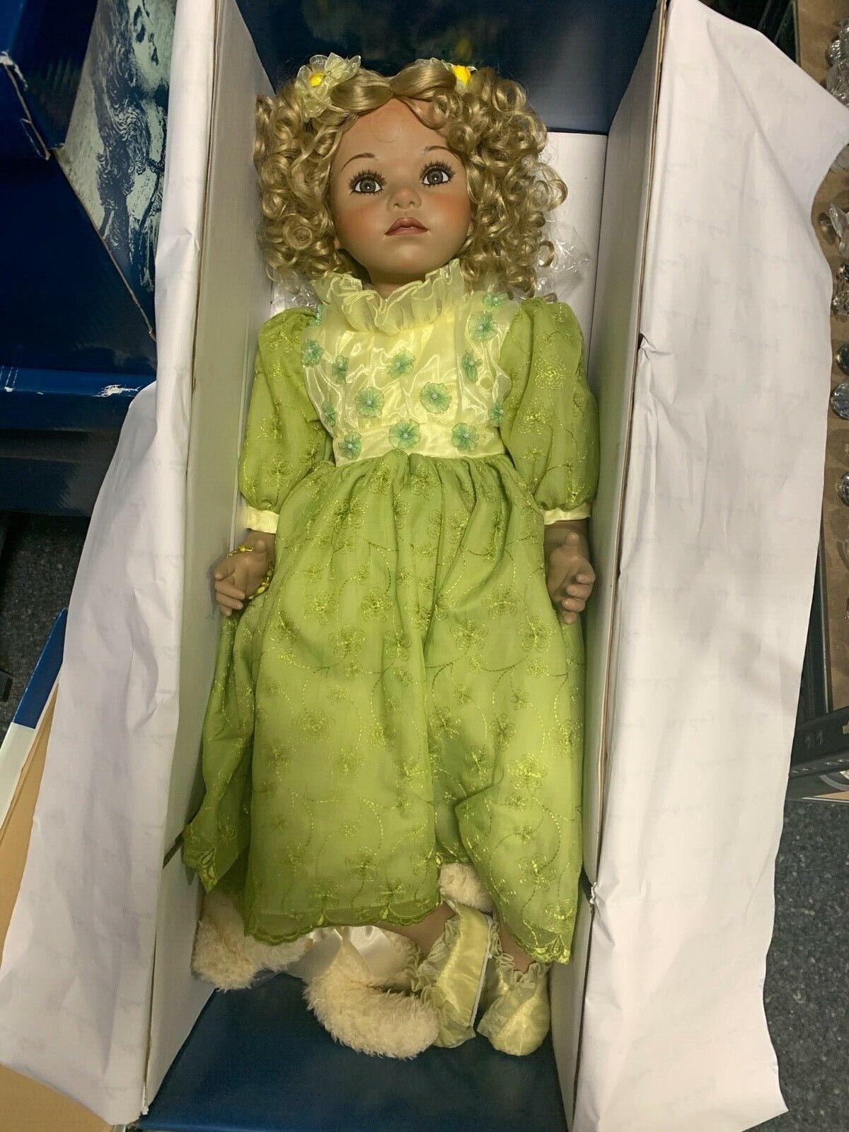 Angels Paradise Künstlerpuppe Porzellan Doll 75 cm. Top Zustand