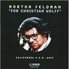 Morton Feldman - : For Christian Wolff (2009)