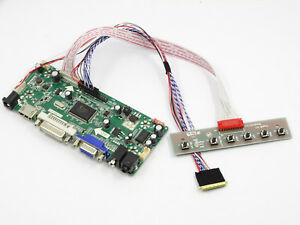 Kit For B173RW01 V.0 TV HDMI+DVI+VGA LCD LED Lvds Converter driver board
