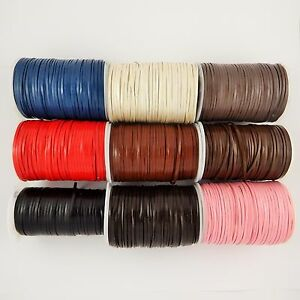 3mm-amp-5mm-flat-leather-cord-rope-lace-1-3-5-amp-10m-lengths-craft-necklace-tools