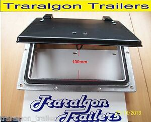 Pop Up Roof Air Vent Large Horse Float Trailer Caravan Rv Canopy