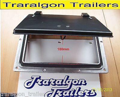 pop up roof air vent large  horse float trailer caravan RV canopy camper ACC16