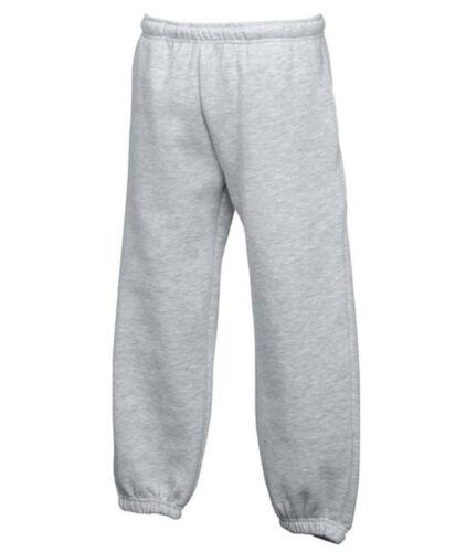 Pantalone Felpato Bambino//Boy FRUIT OF THE LOOM Jogging TUTA//PANTALONI Jog KID