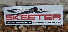 SKEETER Performance Fishing Bass Boat SIGN Logo Advertising Marina Mechanic