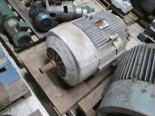 Reliance Dual Shaft Ac Motor 40hp 1200rpm Fr 364tsz 230460v 996498a Used