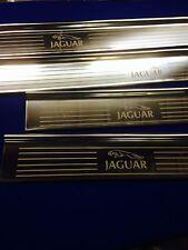 Jaguar Mk2 JAGUAR Stainless steel Tread Plates Etched Logo Luxury Sills