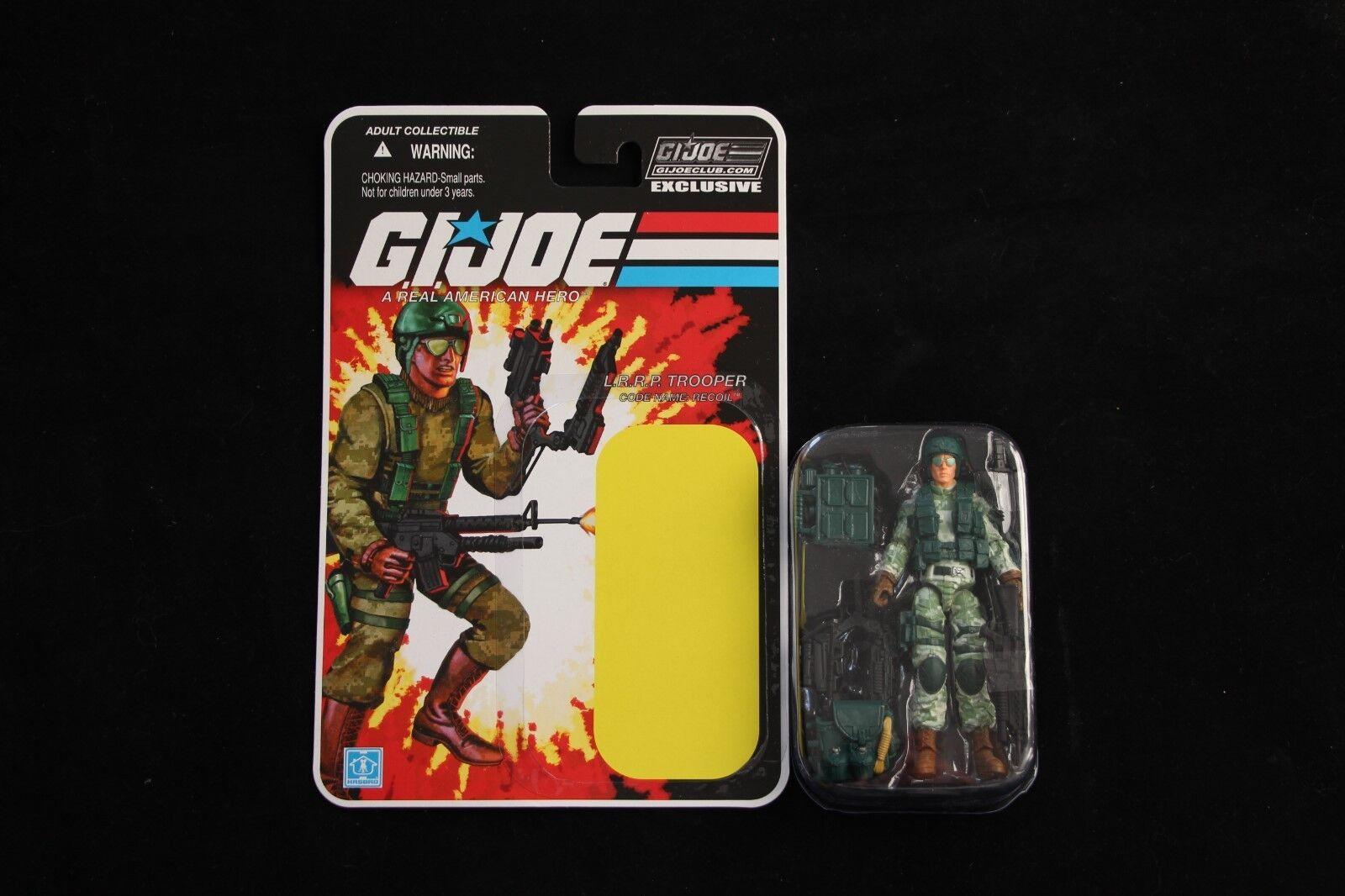 GI Joe 2018 Collector's Club FSS 8.0 L.R.R.P. Trooper Recoil Figure New Complete