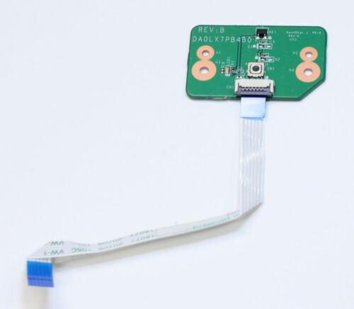 HP Pavilion DV7-4000 Power Button Board DA0LX7PB4B0 35LX7PB0000 with Cable