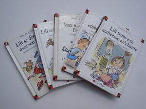 LOTE-de-38-libros-MAX-Y-LILI-CALIGRAMA-AS-COMO-VA-LA-VIE