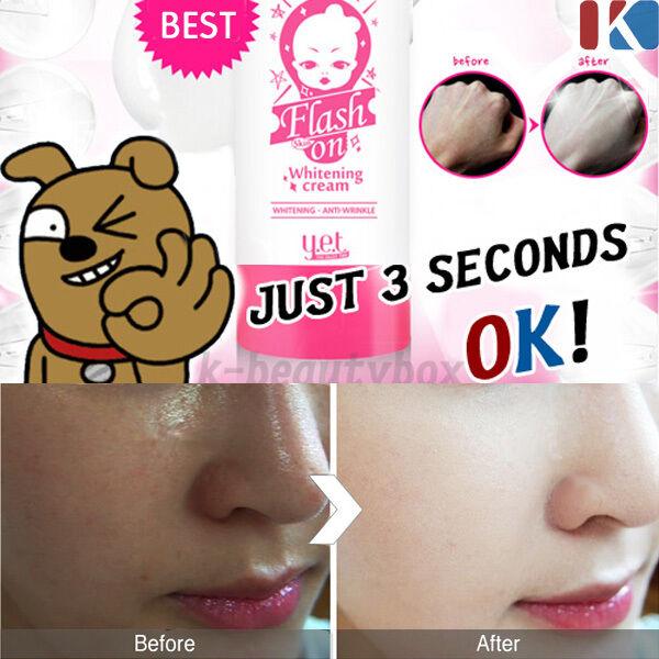 INSTANT WHITENING BRIGHTENING CREAM ANTI AGING WRINKLE 75ml Korean Cosmetics